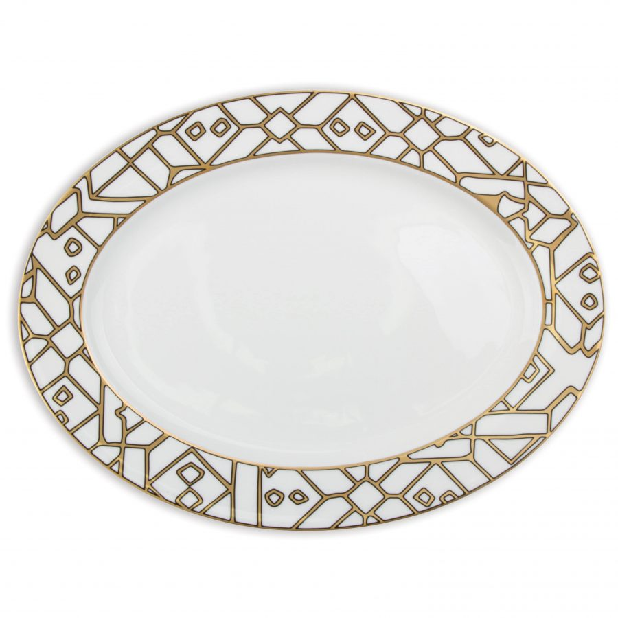 Here Comes the Sun Oval Platter - HCTS011